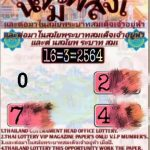 Thai Lottery Free Tips