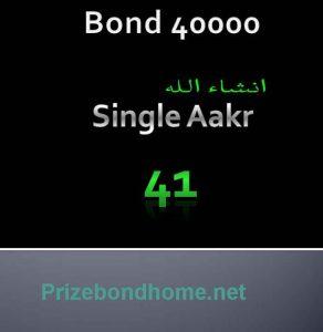 Prize Bond Guess Paper 10 March 2021 Bond 40000 Latest