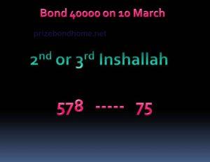 latest prize bond guss paper 40000