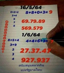 lottery in thailand paper