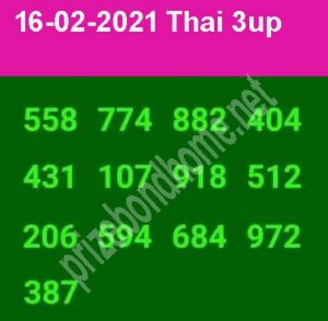 Thai lottery magazine papers 4pc New