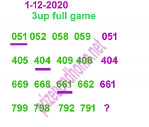 3up thai lottery latest paper