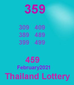 Thai lottery game february 2021
