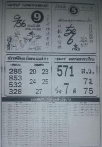 magazine lottery paper