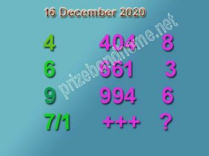 thai lottery paper 16 december 2020