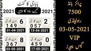 king guess paper 17 may 2021