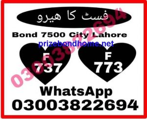 Prize bond guess paper New