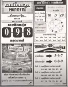 Thailand lottery Magazine papers 16 March 2021