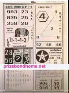 thailand lottery magazine paper