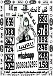 prize bond guess paper baba Ramzan Bond 750 Draw in Quetta 16 April 2021